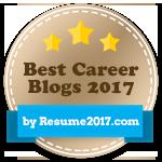 Best Career Blogs 2017 award