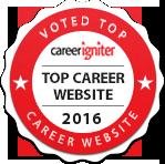Voted Top Career Website 2016